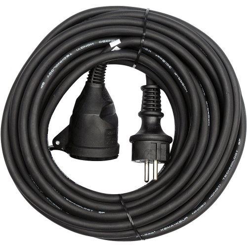 Predlžovací kábel gumový - spojka, 20m, 3 × 1,5mm2 P01720 Emos 1901212000