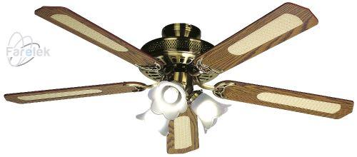 Stropný ventilátor Farelek Baleares H 3 rýchlosti