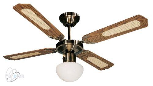 Stropný ventilátor Farelek Bali H drevo