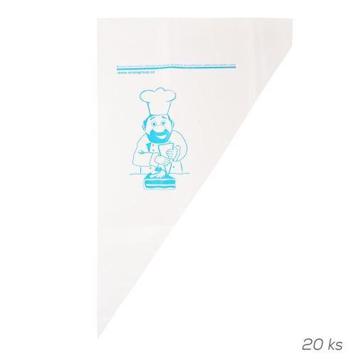 Orion Plastový Cukrárenský sáčok 29,5cm 20ks