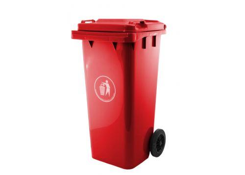 Popolnica plastová G21 GA-240 L červená 639088