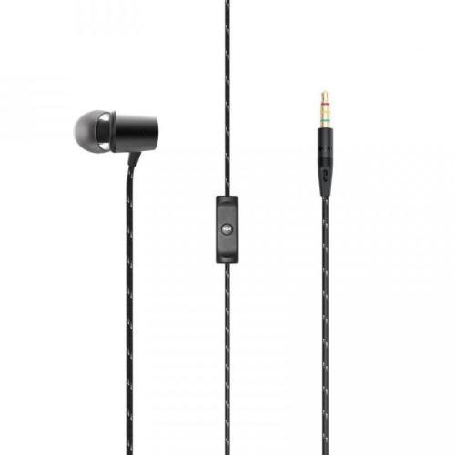 MARLEY Uplift 2.0 - Signature Black, sluchátka do uší s ovladačem a mikrofonem