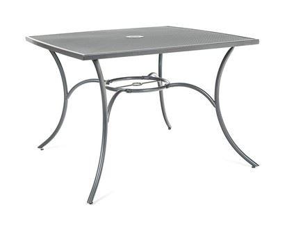 Happy Green Stôl oceľový štvorcový MAINE 100 x 100 cm