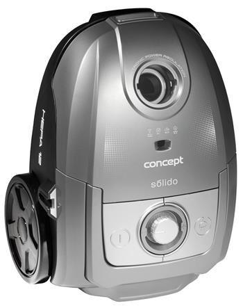 Vreckový vysávač Concept Solido VP8073 strieborný