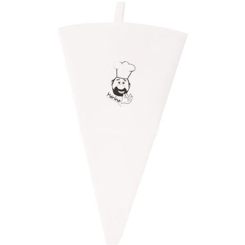 Vrecko na zdobenie bavlna/guma  47 cm
