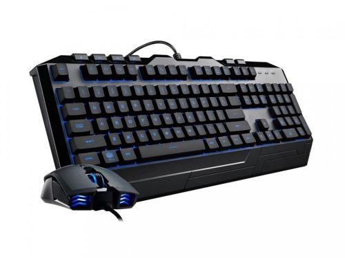 Cooler Master Devastator III, klávesnice+myš, 7 farieb LED, US layout, CM0063