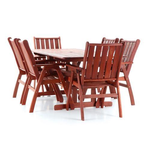 Luxusná záhradná stolová zostava VeGa Victoria Set 6ks