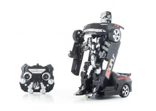 Hračka G21 R/C robot Black Metal