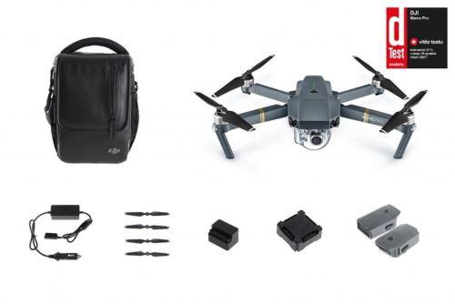 DJI kvadrokoptéra - dron, Mavic Pro Fly More Combo, 4K kamera
