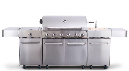 Plynový gril G21 Nevada BBQ kuchyne Premium Line, 7 horákov 6390340
