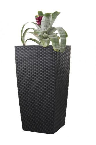 Samozavlažovací kvetináč G21 Linea ratan big mocha 76cm