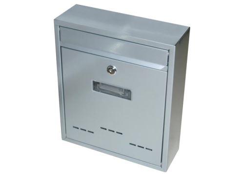 Schránka poštovná G21 RADIM malá 310x260x90mm šedá