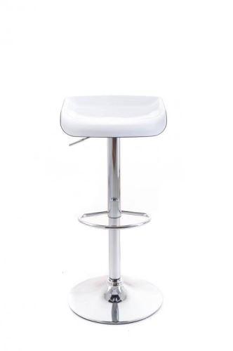 Barová stolička G21 Whieta plastová white/black