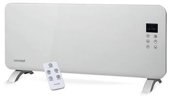 Sklenený konvektor Concept KS4000 White