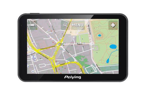 GPS navigácia Peiying Basic PY-GPS5014 čierna