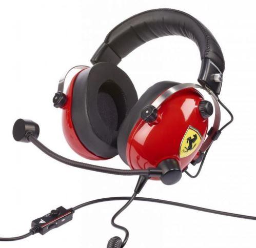 Herní sluchátka s mikrofonem Thrustmaster T.RACING SCUDERIA FERRARI edice (40601