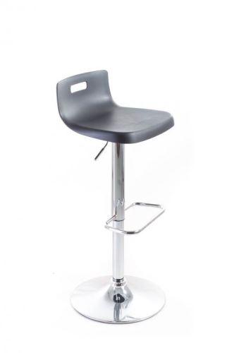 Barová stolička G21 Teasa plastová black