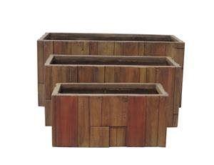 Kvetináč G21 Wood Box 59cm