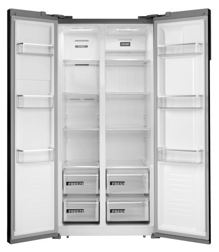 Voľne stojaca kombinovaná chladnička s mrazničkou LA7383 Side by side