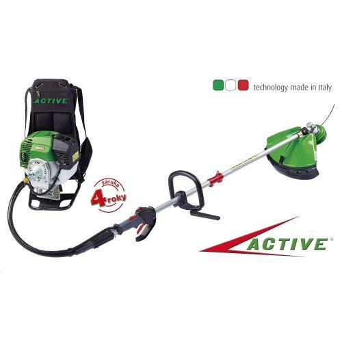 Benzínový chrbtový multifunkčné profi krovinorez ACTIVE 5,5 Z