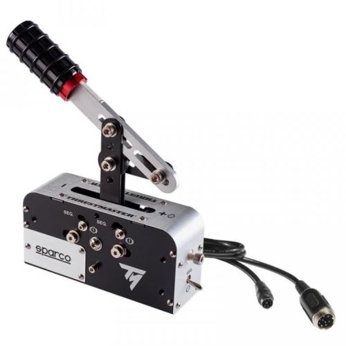 Thrustmaster Sekvenčné radiaca páka a ručná brzda TSSH Sparco, 25,8 x 13,6 x 32,7 cm, 4060107