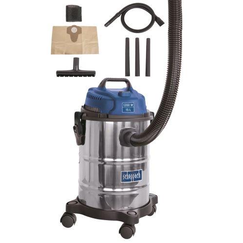 Priemyselný vysávač na suché i mokré vysávanie Scheppach ASP 15 ES