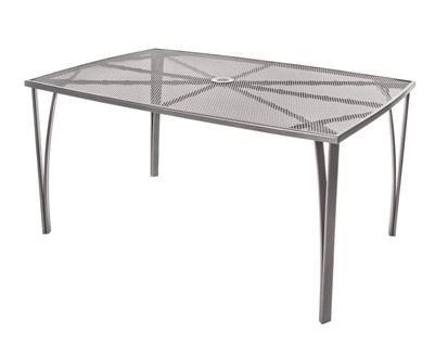 HAPPY GREEN Ocelový záhradný stôl 150x90cm