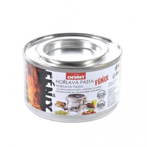 Horľavá pasta FIREGEL 200 g plech