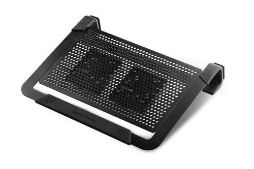 Cooler Master NotePal U2 PLUS, chladiaca podložka pod notebook CM0028, čierna