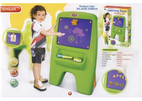 Detská tabuľa G21 magnetická s klipom