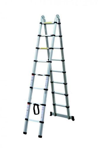 Teleskopický rebrík/štafle G21 GA-TZ16-5M