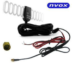 Automobilová DVB-T anténa s 28dB zosilňovačom NVOX T115