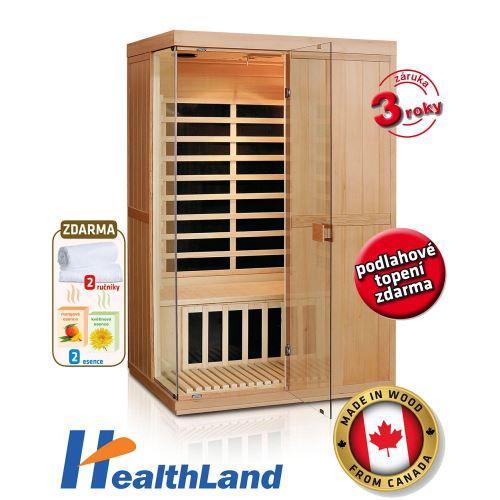 INFRASAUNA HEALTHLAND DeLUXE 2200 CARBON 1800W
