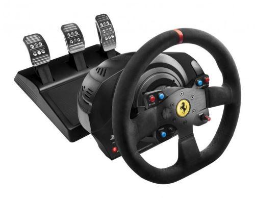 Thrustmaster Sada volantu a pedálov T300 Ferrari 599XX EVO Alcantara TH0119