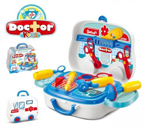 Hračka G21 Detský plastový kufrík doktor 60026116