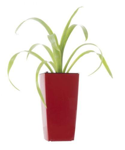 Samozavlažovací kvetináč G21 Linea mini červený 26cm