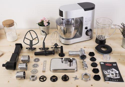 Kuchyňský robot G21 Promesso Aluminium