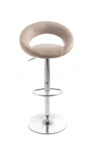 Barová stolička G21 Orbita koženková coffee