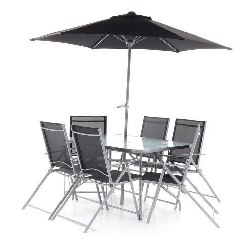 Luxusná stolová zostava VEGAS TEREZA SET6 KOMPLET