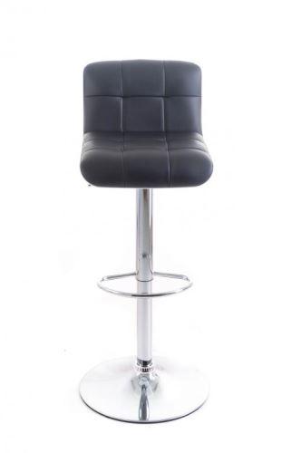 Barová stolička G21 Treama koženková black/white
