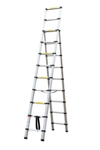 Teleskopický rebrík G21 GA-TZ9 + 11-3,2M štafle 6390402