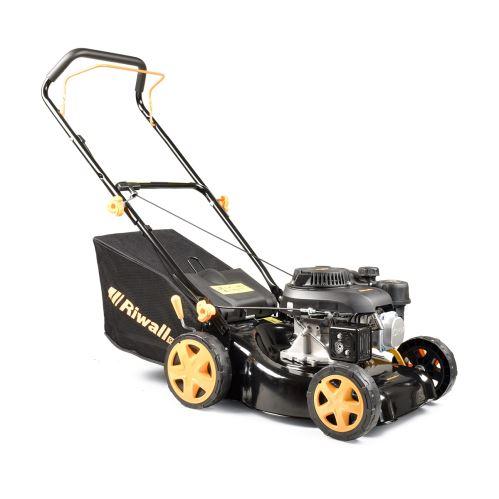 Trávna kosačka 2v1 s benzínovým motorom bez pojazdu Riwall PRO RPM 4234 P PM11B2001077A