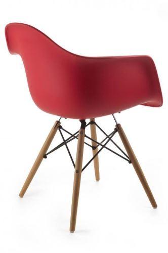 Dizajnová stolička G21 Lumber Red