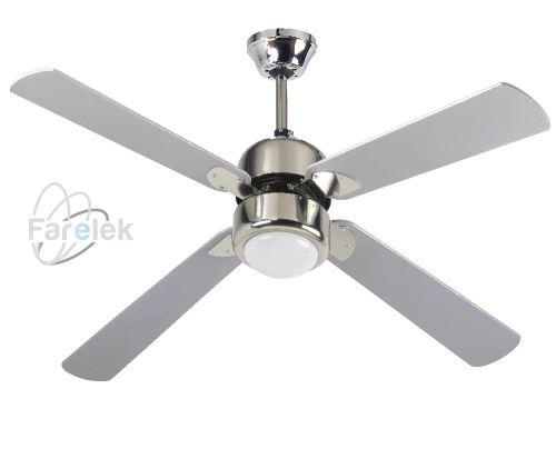 Šedý stropný ventilátor Farelek FIJI 39112426