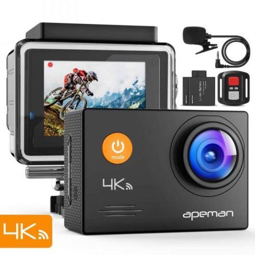 Odolná digitálna kamera Apeman A79, 4KUltra HD, vodotesné puzdro do 40m AM0008