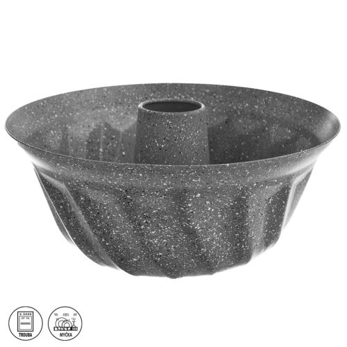 Forma bábovka kov/nepr. p. GRANDE pr. 24,5 cm